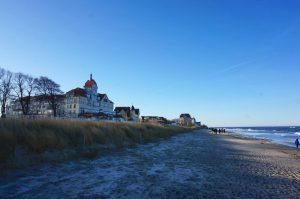 Winter Kühlungsborn Strand Ostsee