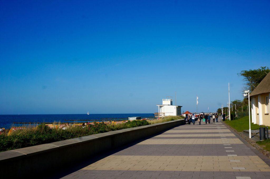 Strandpromenade Kühlungsborn an der Ostsee