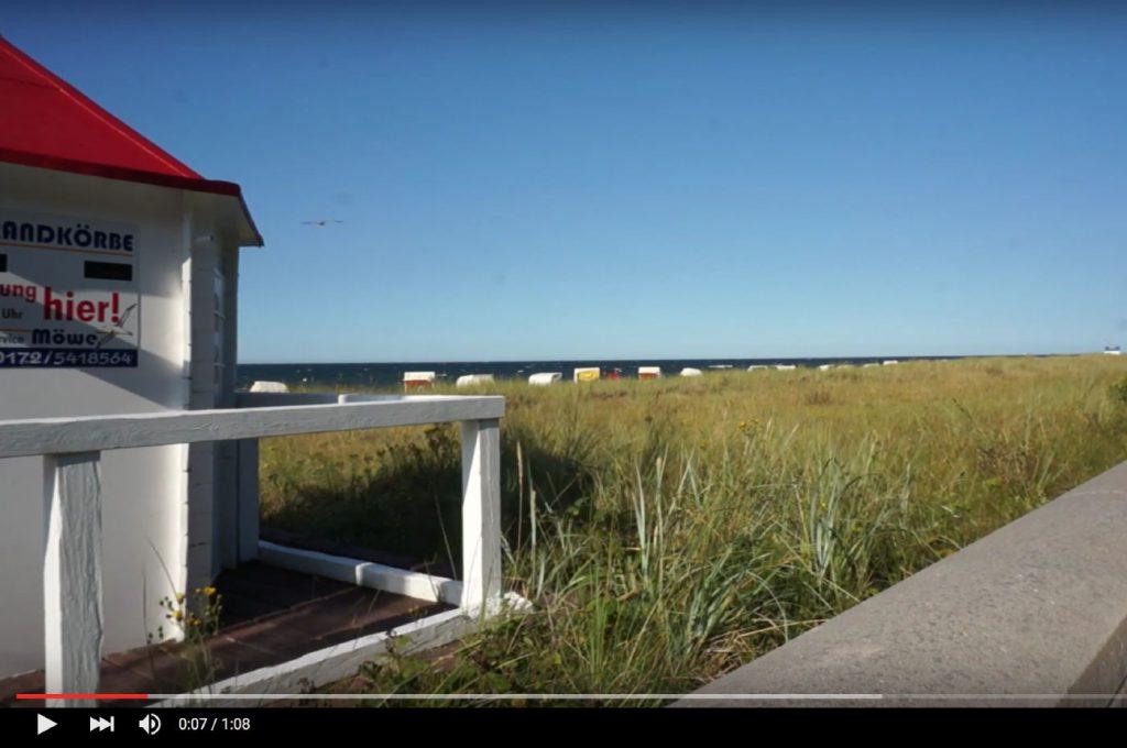 Video vom Strand in Kühlungsborn