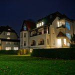 Villa Löwenstein Kühlungsborn bei Nacht