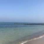 Blick auf den Strand von Kühlungsborn an der Ostsee