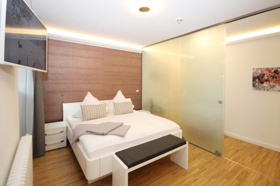 Apartment 07 Schlafzimmer