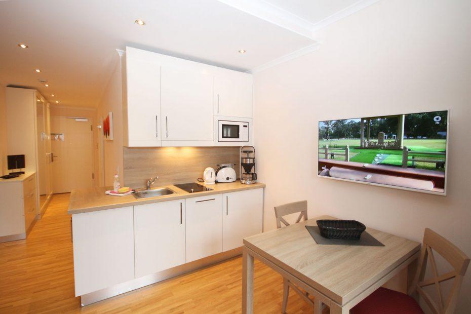 Küchenzeile des Apartment 10