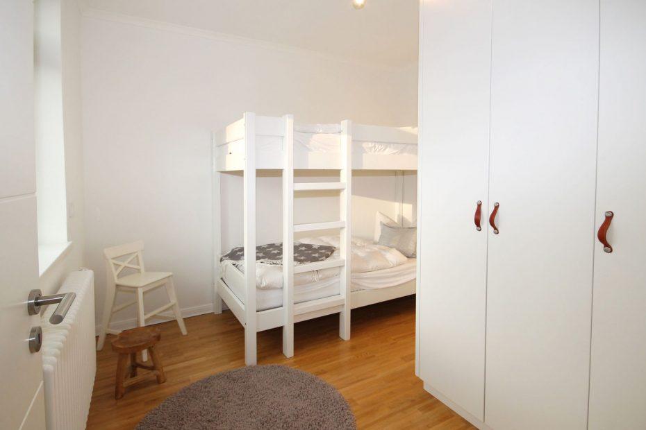 Kinderschlafzimmer im Apartment 15