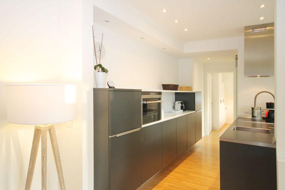Küche im Apartment 15