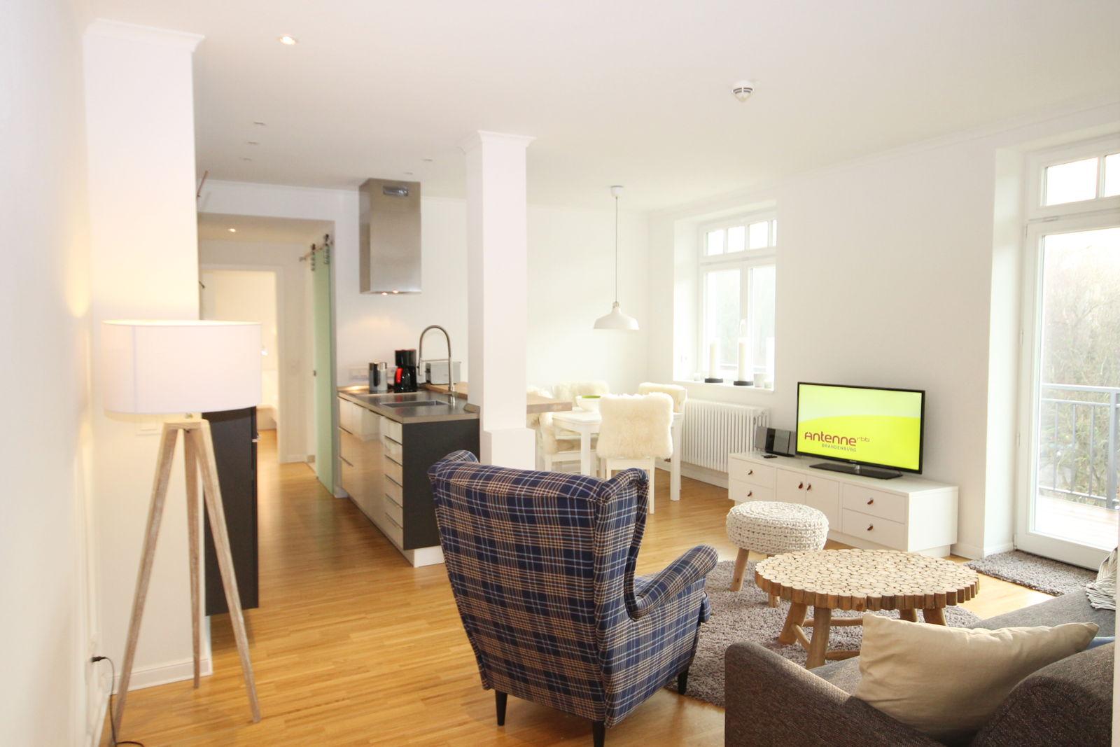 Wohzimmer Apartment 15