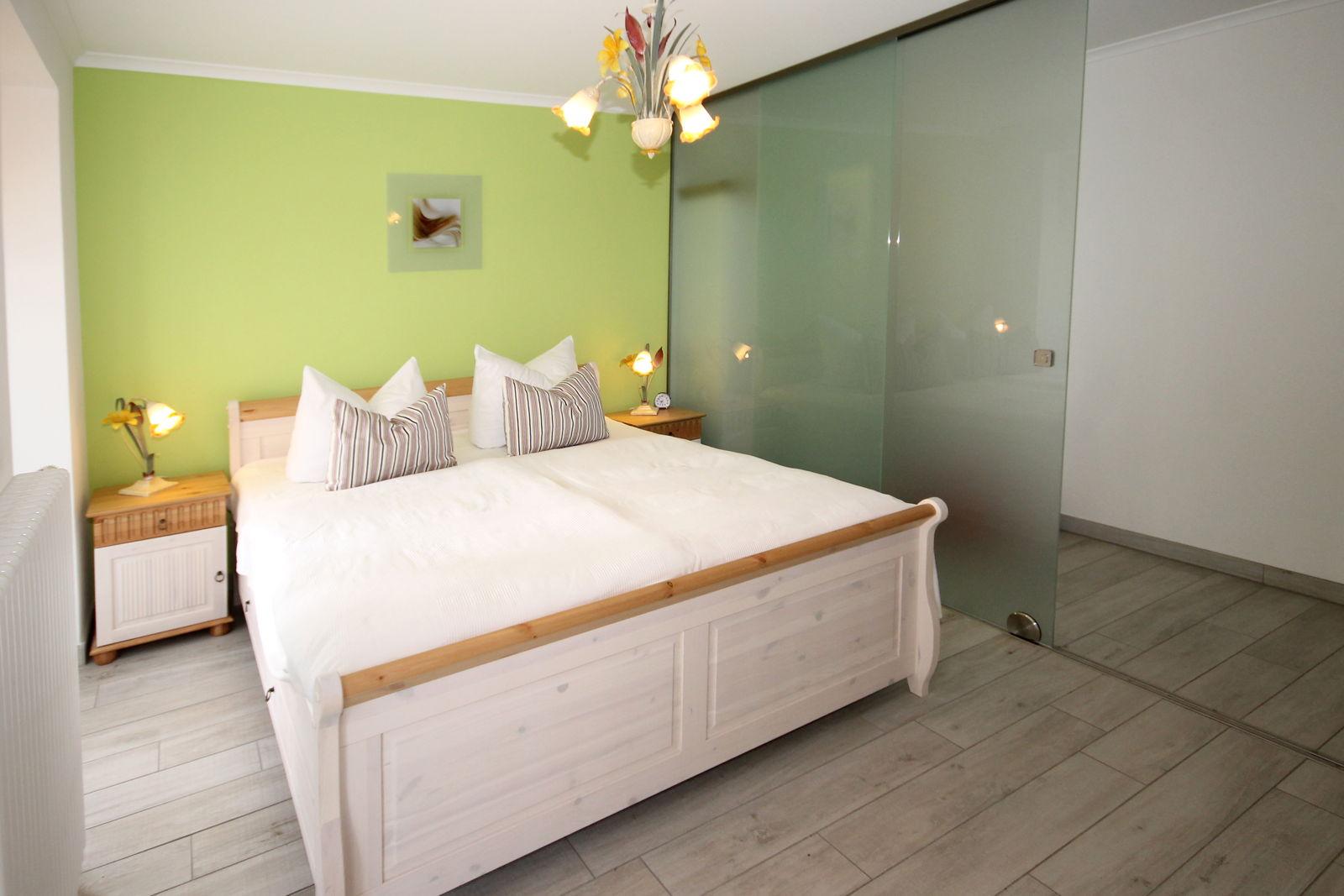 Schlafzimmer Apartment 03 Villa Löwenstein