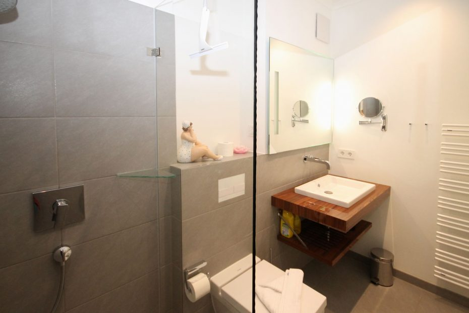 Apartment 6 Badezimmer