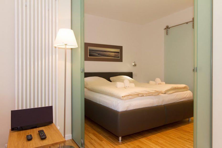 Wohnung 09 Bett