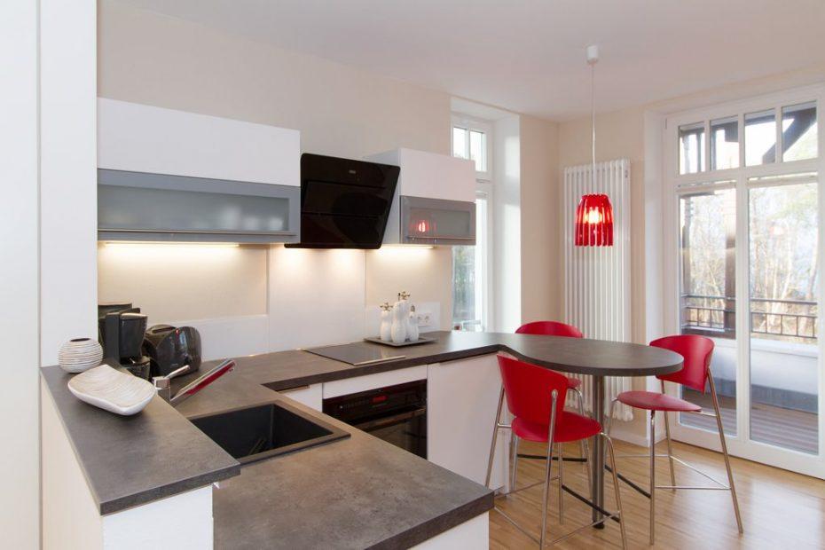 Wohnung 9 Küchenzeile