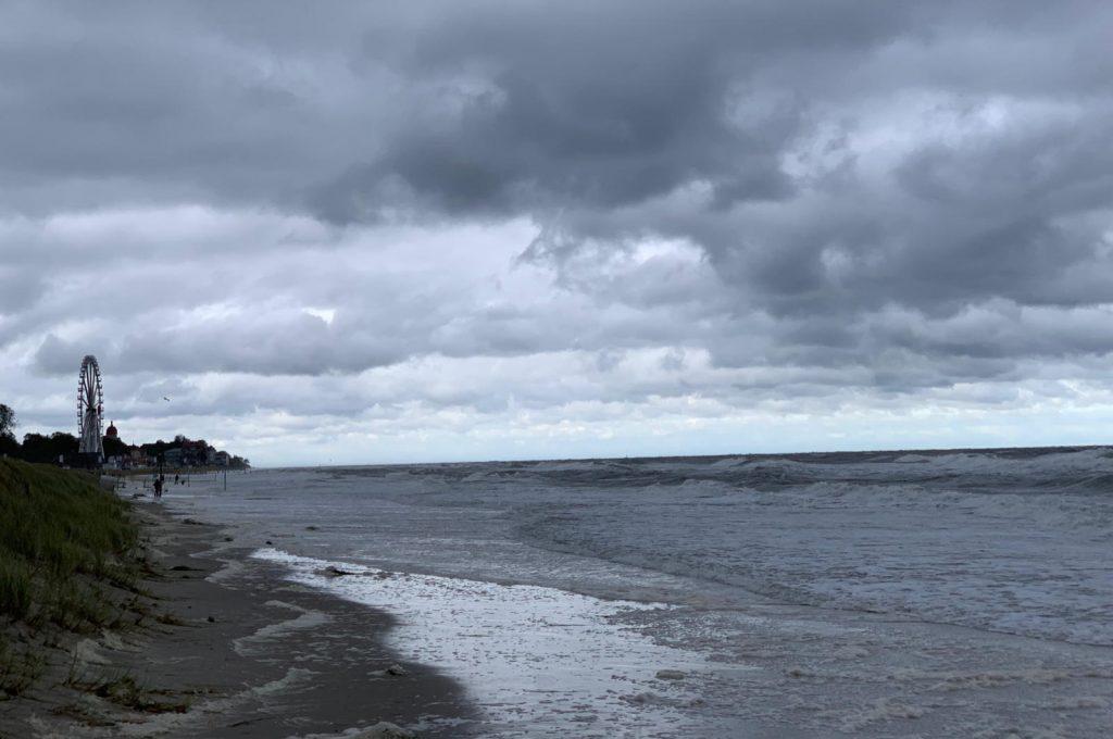 Kühlungsborn Sturm Strand