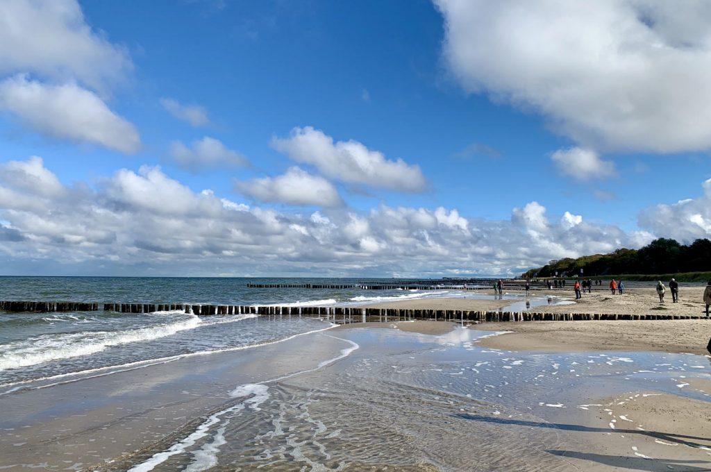 Strand Oktober Kühlungsborn
